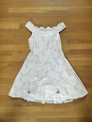 Vintage Girl's Dress  Zum Zum Kidz   Size 16 Pink
