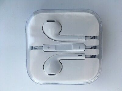 Apple iPod iPad iPhone Headphones BNIB White Jack Aux Lead Cable Ear Plugs