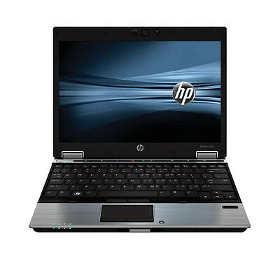 "HP EliteBook 2540P 12.1"" Laptop Intel i7-L640 2.13GHz 4GB 160GB Windows 10 Pro"