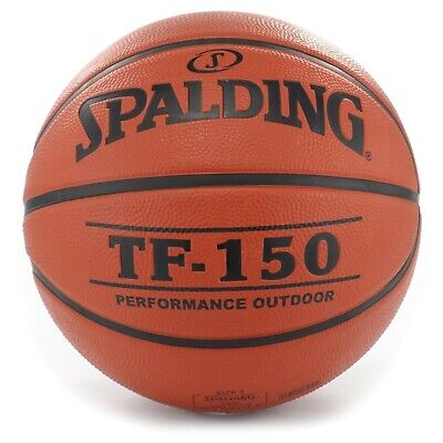 Ballon Basketball Spalding TF 150 - Ballon de Basket - Taille 7 Officielle