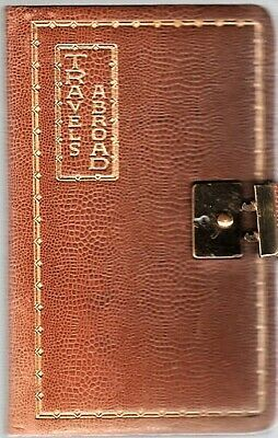 Kathleen Millington / HANDWRITTEN 1930 EUROPEAN TRAVEL DIARY KEPT BY THIS 1st ed