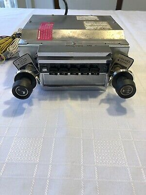 Vintage Automatic Radio 8 Track Car Stereo w/ AM/FM stereo gm ford  chry NOS