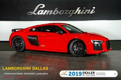 2018 Audi R8 Plus Coupe 209K MSRP!+SPORT PACK+CCB'S+DIAMOND LEATHER+CARBON+NAV+RR CAMERA+BANG & OLUFSEN