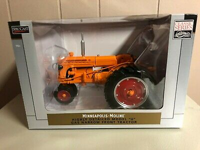 SpecCast SCT 561 1:16 Minneapolis Moline U Toy Tractor w// Cultivators