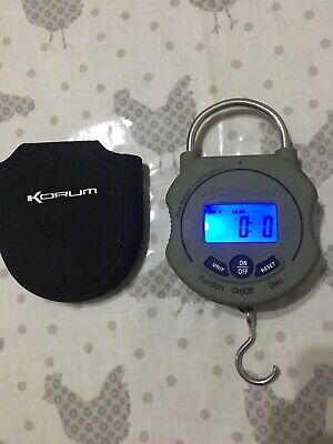 Korum Scales With Neoprene Carry Case 9v Battery