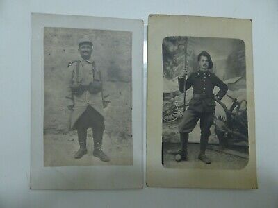 @012 CPA MILITAIRE Photographies 1917