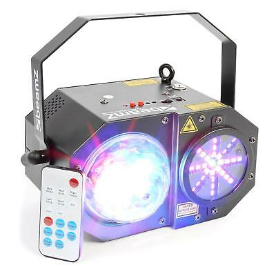 beamZ Sway Jellyball LED 3 en 1 avec laser et orgue LED RVBB laser RV 150 mw