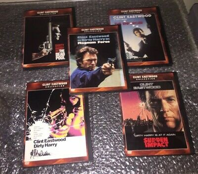 The Dirty Harry Series DVD, 2001, 5-Disc Set, The Clint Eastwood  DVD Collection