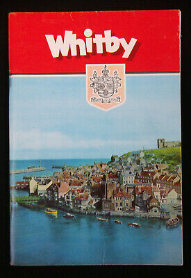 Vintage WHITBY OFFICIAL GUIDE WITH MAP 1970