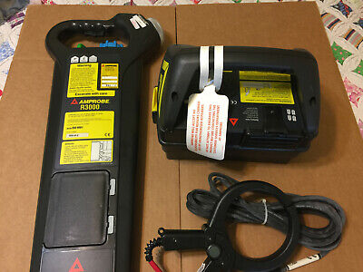 Amprobe R3000 with G3000 PRO Cable and Pipe Locator Transmitter/Receiver/Cables
