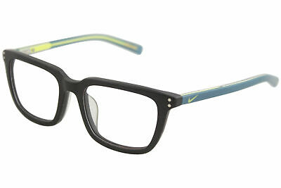 d0ce0f308a4 Nike Youth Boy s Eyeglasses 5KD 010 Matte Black Volt Full Rim Optical Frame  47mm