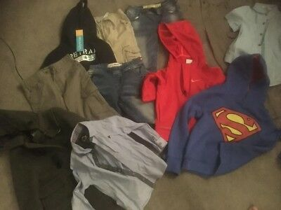 Small Bundle Of Boys Clothes Age 3-5 Years