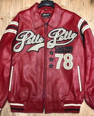 Pelle Pelle 21239 CABERNET PLUSH SIZE 50 LEATHER JACKET BRAND NEW WITH TAGS!