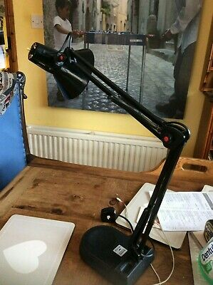 JUST COME IN ,,like a Vintage Anglepoise Lamp Black & Red & Tested