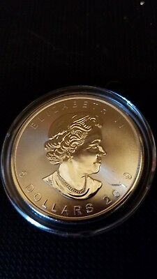 2019 BU 1 oz Canadian Silver Maple Leaf $5 Coin .9999 Fine Silver