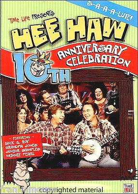 New As Is Rare Oop Time Life Exclusive Hee Haw 10Th Anniversary Celebration Dvd