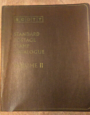 Scott 1972 Standard Postage Stamp Catalogue Countries of the World AF Volume 2
