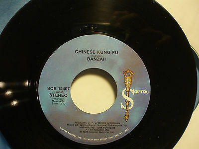 Banzaii: Chinese Kung Fu / disco version    [new Unplayed Copy]