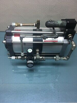 Maximator GPLV2 maxpro air Single Stage Double acting Air Amplifier #1714