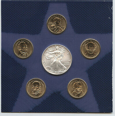 2008 United States Mint Annual Uncirculated Dollar Coin Set - AZ865