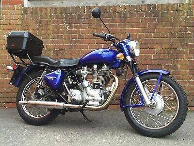 (DEPOSIT RECEIVED) 2003 ROYAL ENFIELD BULLET 500 : Low Mileage, 2 Owners