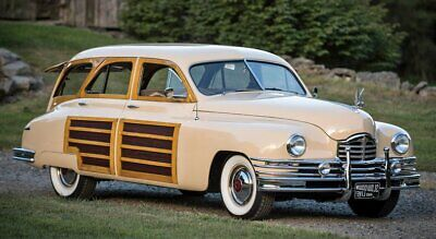 1949 Packard Deluxe  1949 Packard Woody Wagon