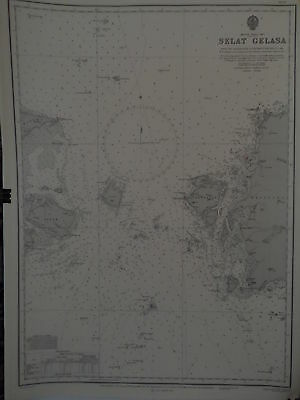 CM2137 Found in a treasure chest! Vintage marine chart China sea