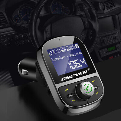 Bluetooth FM Transmitter Car MP3 Player 3.1A USB Charger U Disk AUX Out