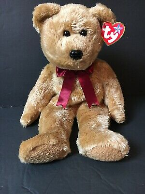 5c5d054643a TY Beanie Buddy - CURLY the Brown Bear (14 inch) - Stuffed Animal Toy