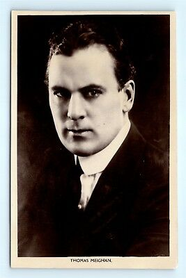 Postcard c1920s Real Photo RPPC Movie Star Actor Thomas Meighan H13