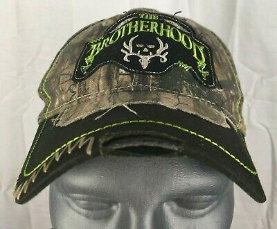 Paramount Outdoors Bone Collector The Brotherhood Cap Hat Fitted S M Camo fccfb1cd8b99