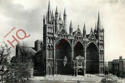 Picture Postcard: Peterborough Cathedral, West Front