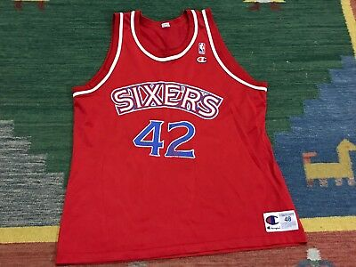 3c340f36d MENS 48 - Vtg NBA Philadelphia Sixers 76ers Jerry Stackhouse Champion Jersey