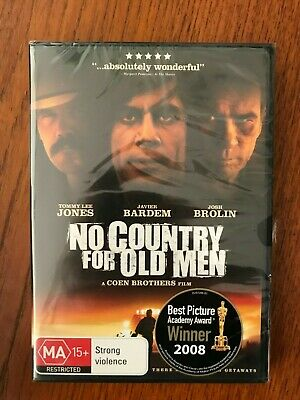 No Country For Old Men DVD Region 4 New & Sealed