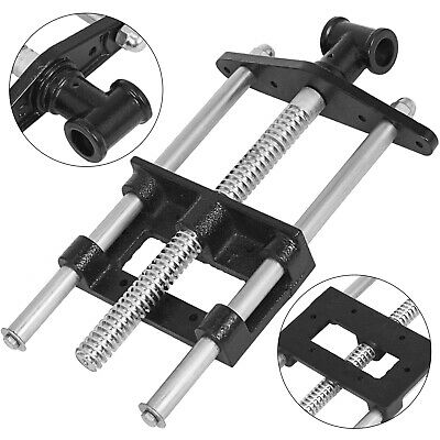 8.7 inch Bench Wood Vise Chrome Plating Woodworking Adjustable Woodworker Vise