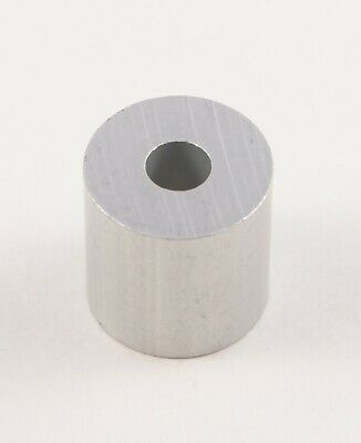 "New Aluminum Spacer bushing bung 3/4"" OD x 1/4"" ID x 3/4"" Long M6 Bore (6mm)"