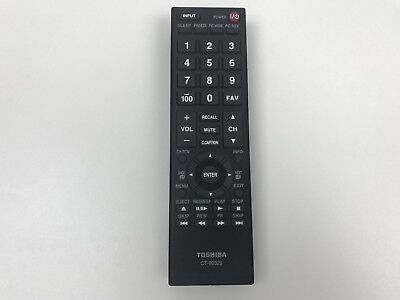 Original OEM Genuine Toshiba CT-90325 TV Remote Control 55HT1U 55S41U 46G310U