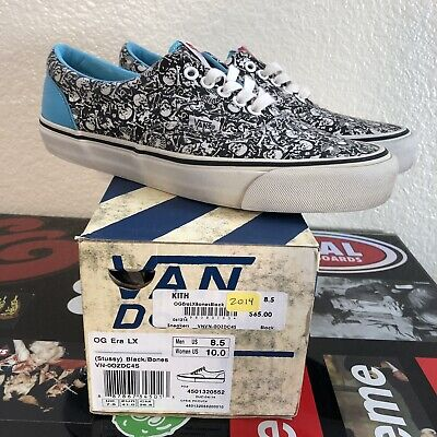 VANS AUTHENTIC SNAKESKIN Print Gold Lace Up Shoes Mens 8.5 Womens 10 ... 7a9f473a25