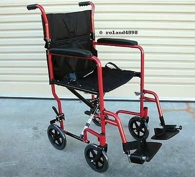 Aidapt Folding Compact Transit Wheelchair - NEW