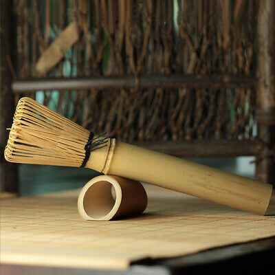 Ceremony Bamboo Chasen Japanese Powder Whisk Green Tea Preparing Matcha Brush LL