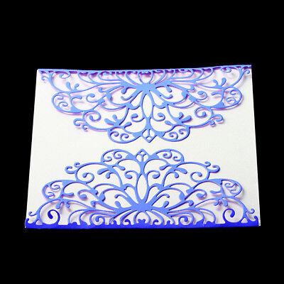 Lace frame Metal cutting dies stencil scrapbooking embossing album diy gift#