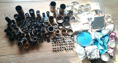 Huge Lot of Different Vintage CINEMA PROJECTION CAMERA LENS & Many Tools