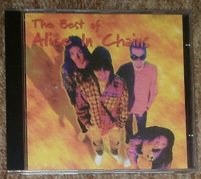 ALICE IN CHAINS - Best Of - rare CD Bulgaria