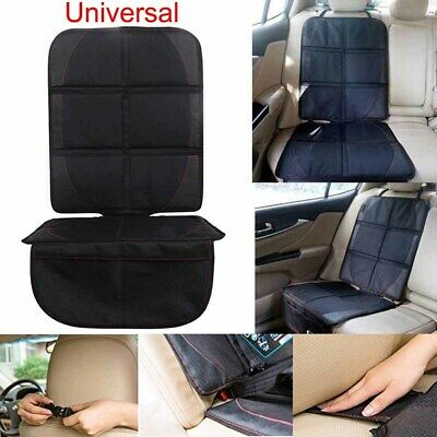 Black Car Back Seat Cover Protector Protects for Children Kids Babies Kick Mat