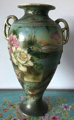 Beautiful Antique Japanese Vase - Not Perfect