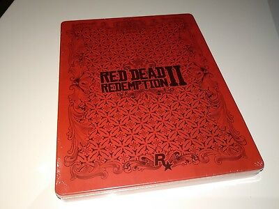 Steelbook Red Dead Redemption 2 II PS4 XBOX NO GAME