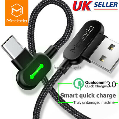 USB to Type-C Fast Charger Cable Data Sync Unbreakable For Samsung Note 9 S9 S8