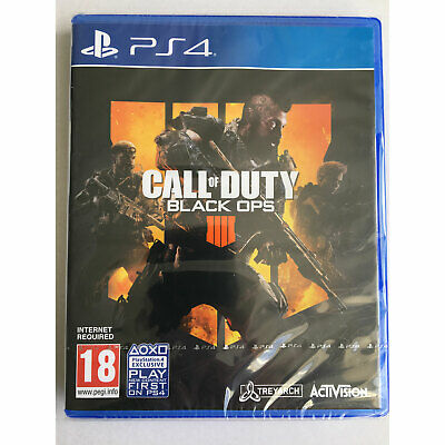 Call of Duty Black Ops 4 (PS4) New and Sealed
