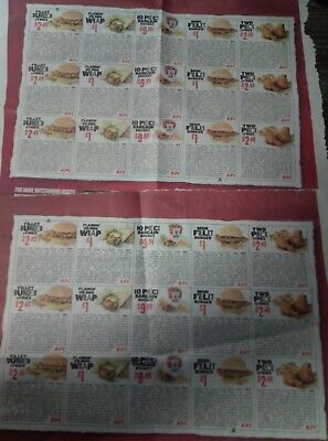 KFC money off   x 30 VOUCHERS valid until 10/3/19