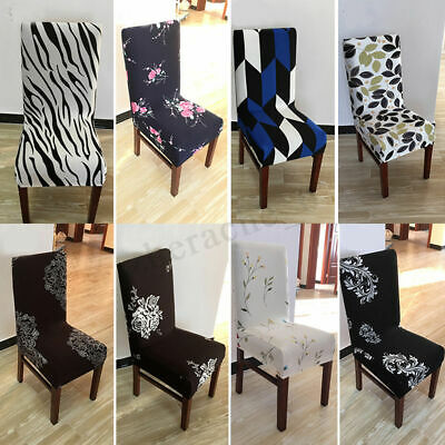 4/8Pcs Stretch Dining Chair Cover Washable Removable Slipcover Dinning Cover